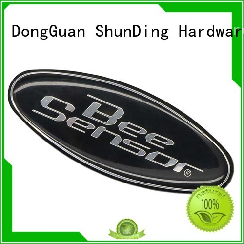 Aluminum Sticker Factory Clean Resin Domed Epoxy Sticker SD-S00002