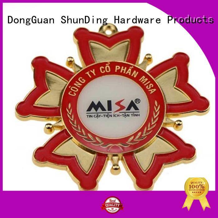 ShunDing advanced custom metal badges experts for souvenir