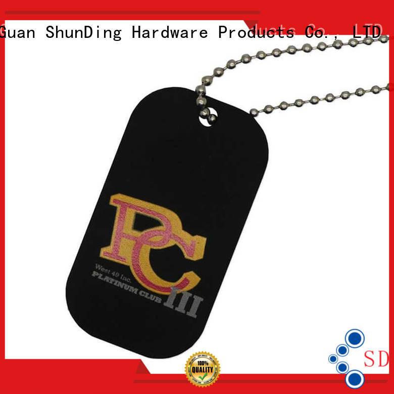 metal dog tags dog garment key tag metal ShunDing Brand
