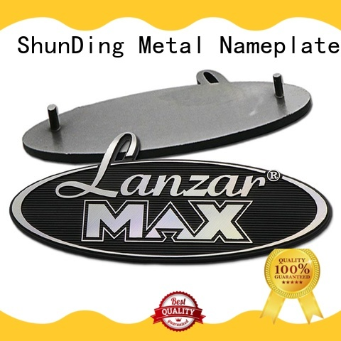 ShunDing personalized name plates with cheap price for company