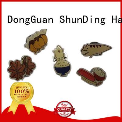 ShunDing stunning metal badge manufacturers type for souvenir