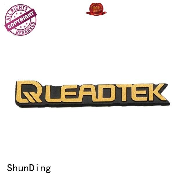 corner embossed steel barcode labels ShunDing