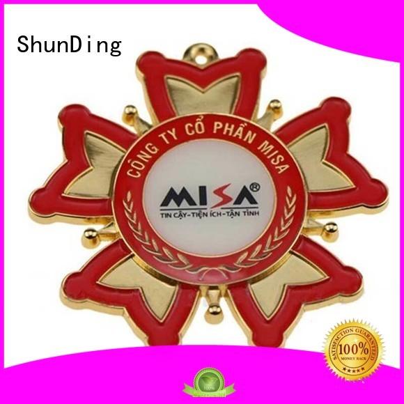 Fancy Souvenir Custom Best Selling Metal Medal Plate SD-B00006