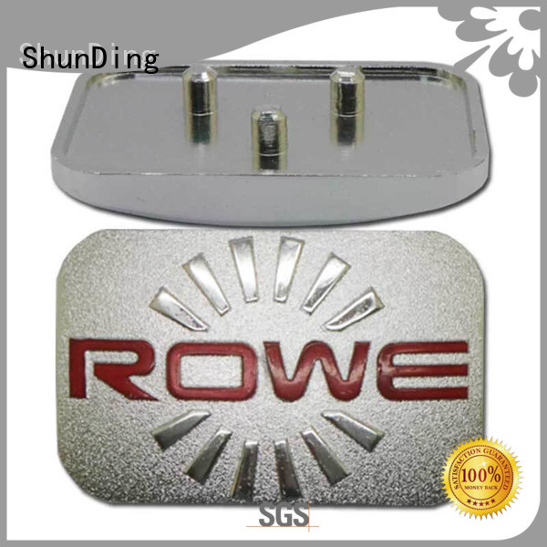 hot-sale aluminium name plate by Chinese manufaturer for identification ShunDing