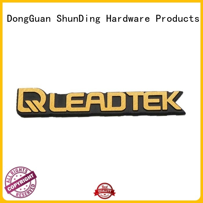 ShunDing diamond metal adhesive labels from manufacturer for auction