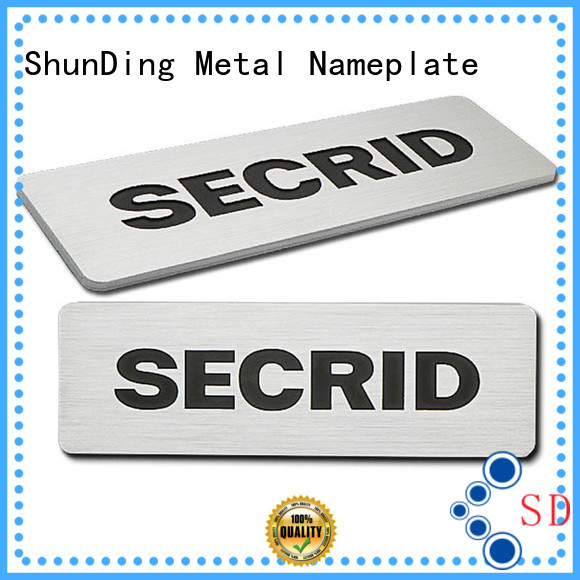 ShunDing high-quality desk name plaques inquire now for meeting