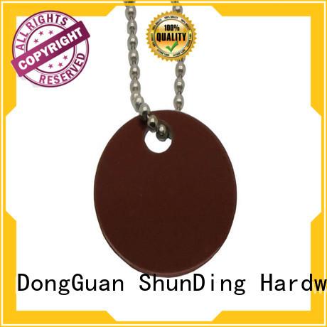 Hot metal dog tags pattern ShunDing Brand