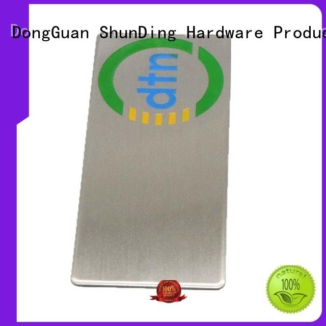 ShunDing Brand domed laser color barcode labels