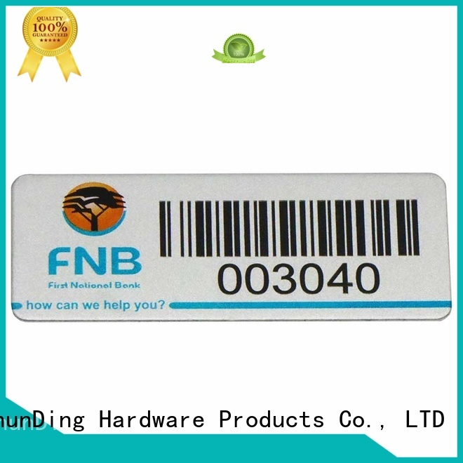 ShunDing number epoxy label free design for meeting
