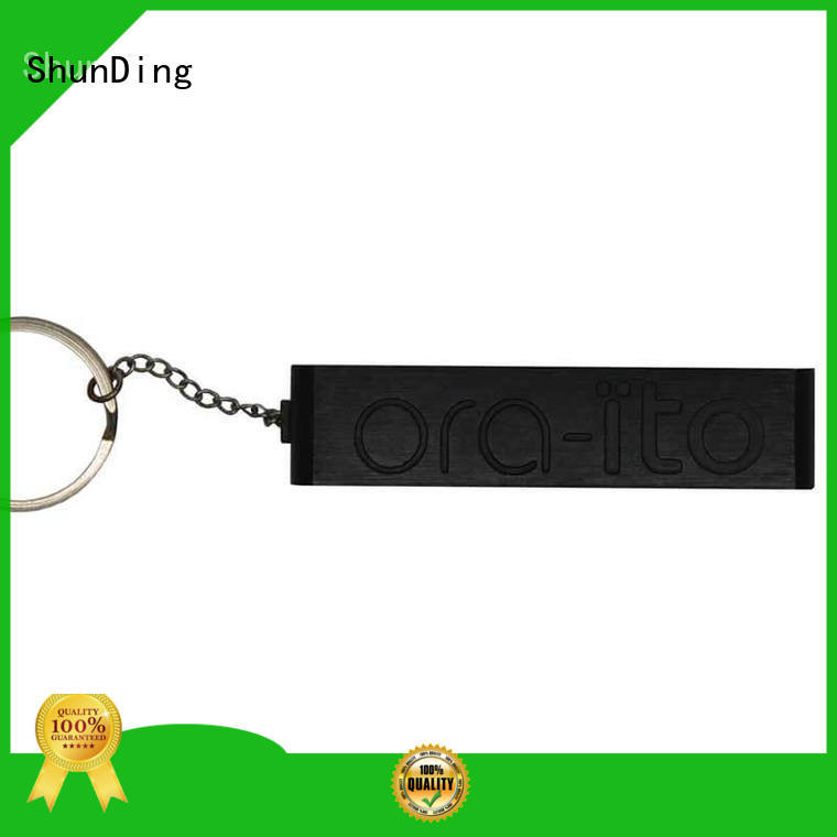 ShunDing Brand black key tag custom factory