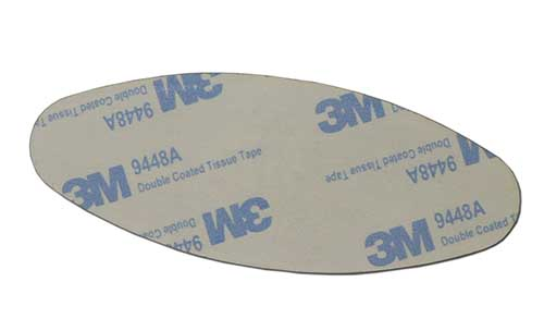 Aluminum Sticker Factory Clean Resin Domed Epoxy Sticker SD-S00002-6