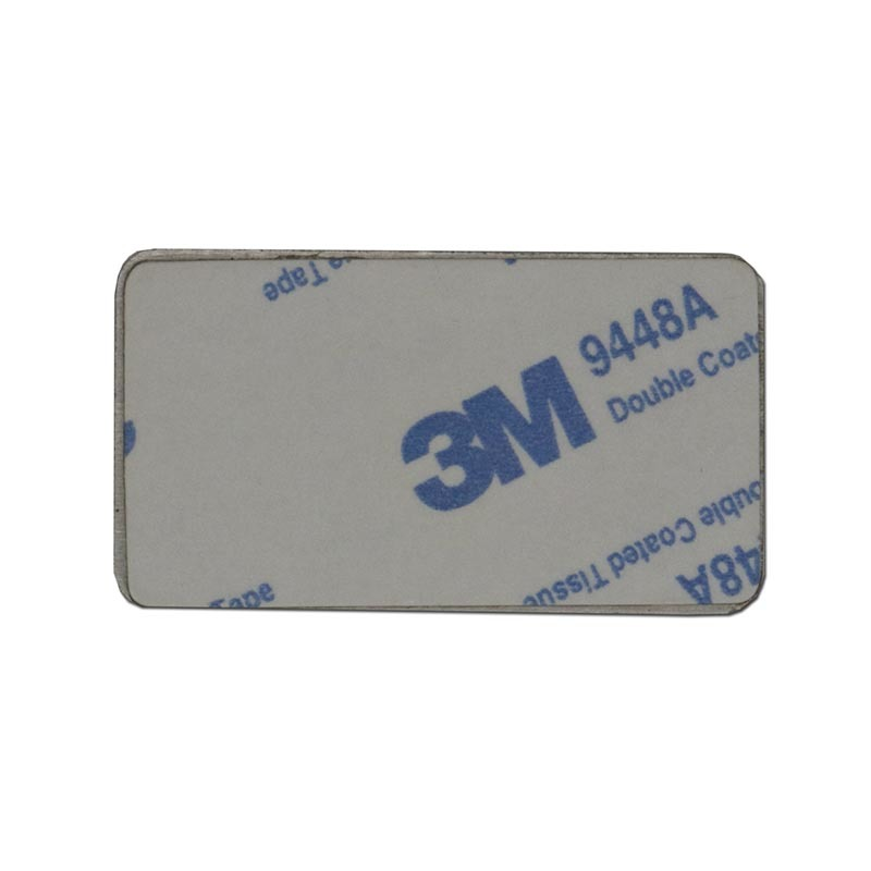 Customized Etched Stainless Steel Injected Metal Sticker SD-S00005