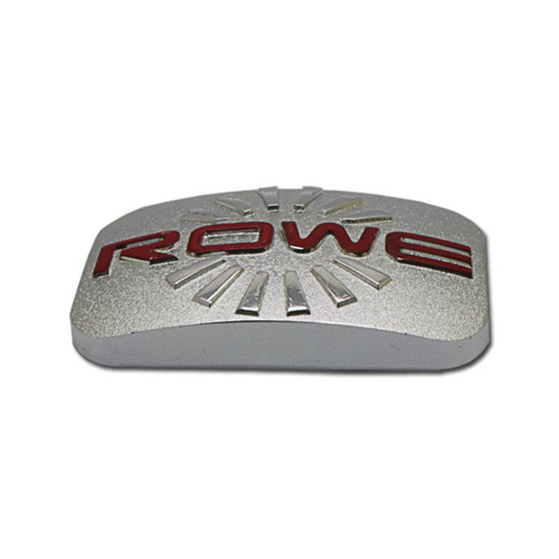 3D private custom embossing Car Nameplate SD-N00003