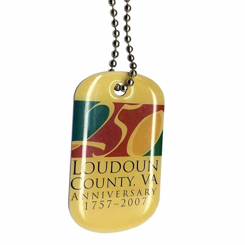 ShunDing brown custom metal tags bulk production for auction-2