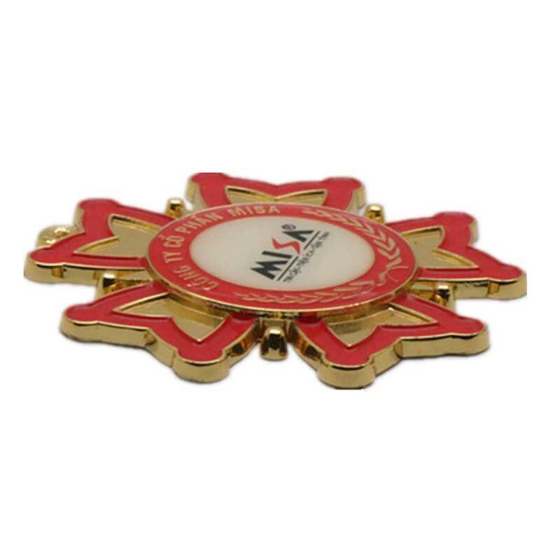 ShunDing logo badge metal for souvenir-1