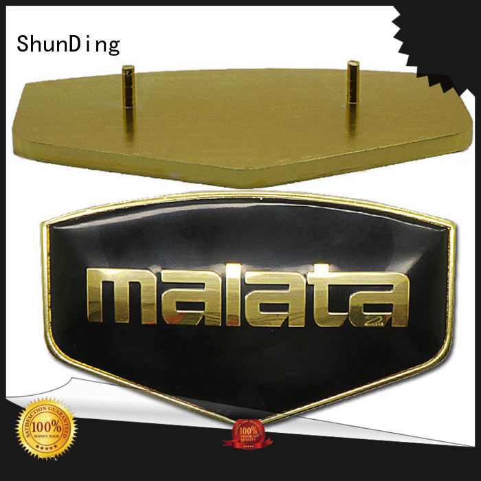 embossed door name plates exquisite mounting ShunDing company