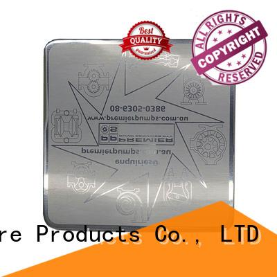 perfume wine metal sticker glossy stamped ShunDing company