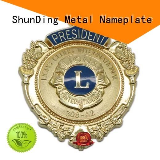 ShunDing custom metal medal cost for activist