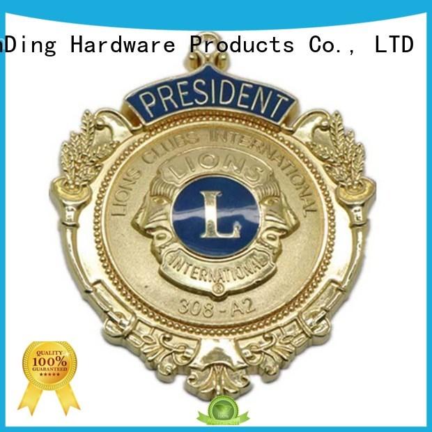 customized Custom epoxy metal badge selling ShunDing