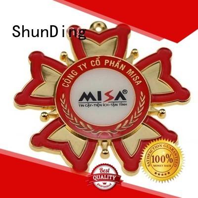 resin metal police badge private for activist ShunDing