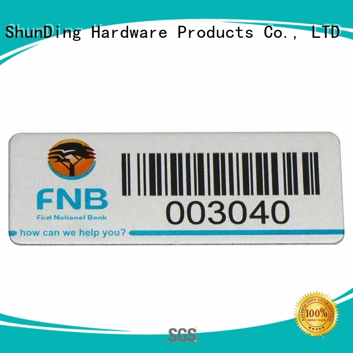 ShunDing high-quality metal label plates long-term-use for company