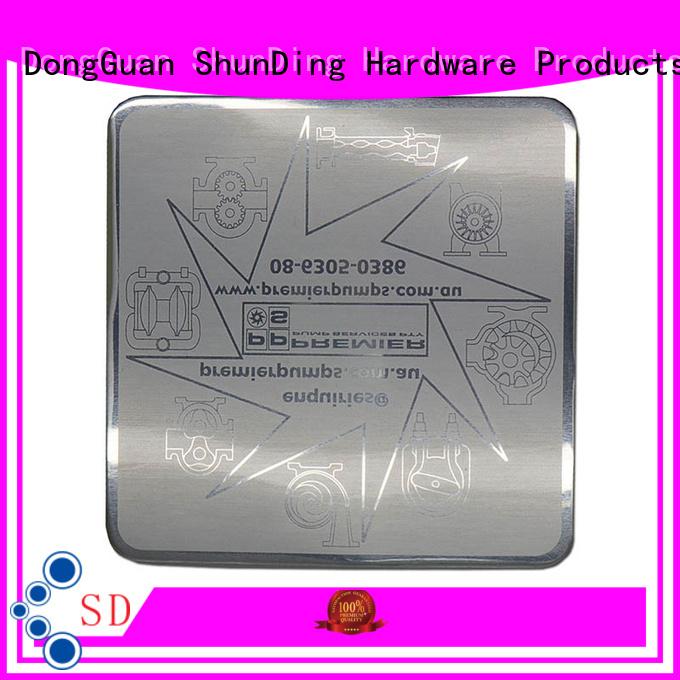 ShunDing quality metal sticker bottle for company