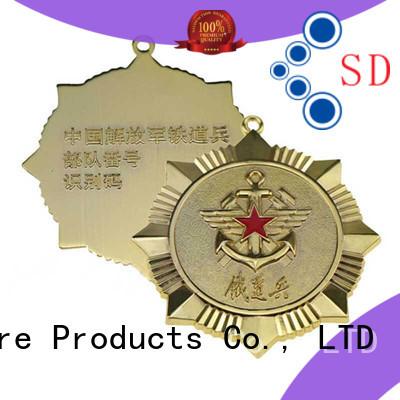 Hot metal badge style ShunDing Brand