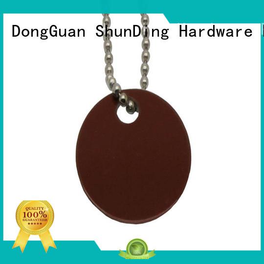 metal dog tags anodized for souvenir ShunDing