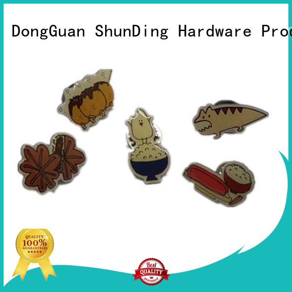 Wholesale epoxy metal police badge souvenir ShunDing Brand