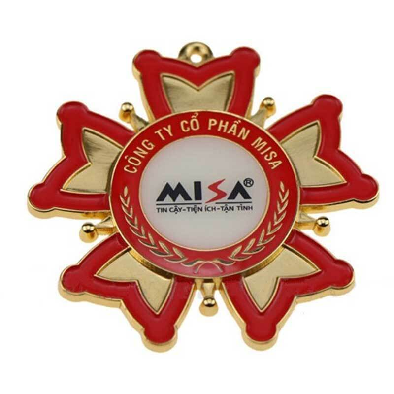 ShunDing magnificent custom metal logo badges type for activist-2