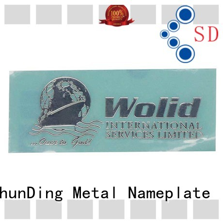 ShunDing stunning metal sticker inquire now for meeting