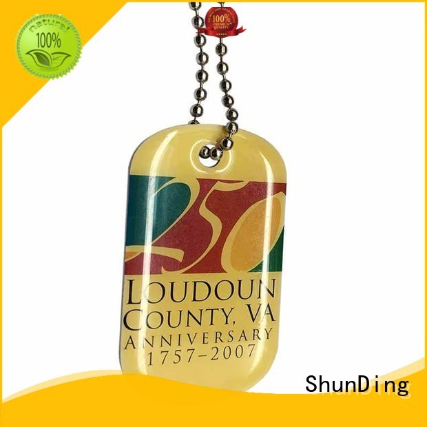 ShunDing 3d brand tag marketing for activist