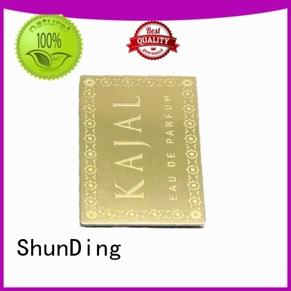 hot-sale metal label plates factory price for commendation