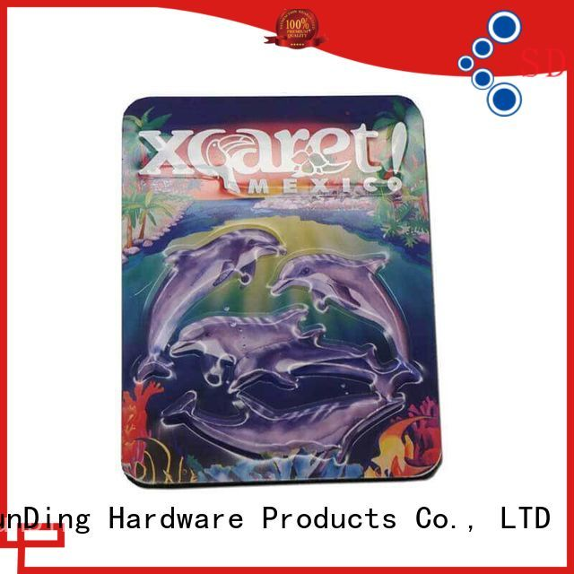 Wholesale private style metal badge ShunDing Brand