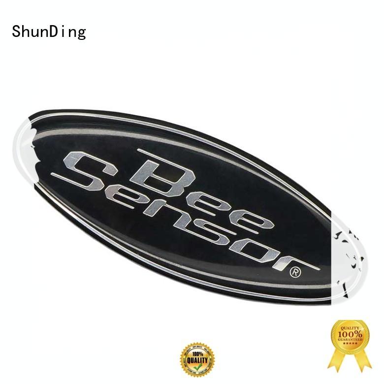 wine sticker OEM metal sticker ShunDing