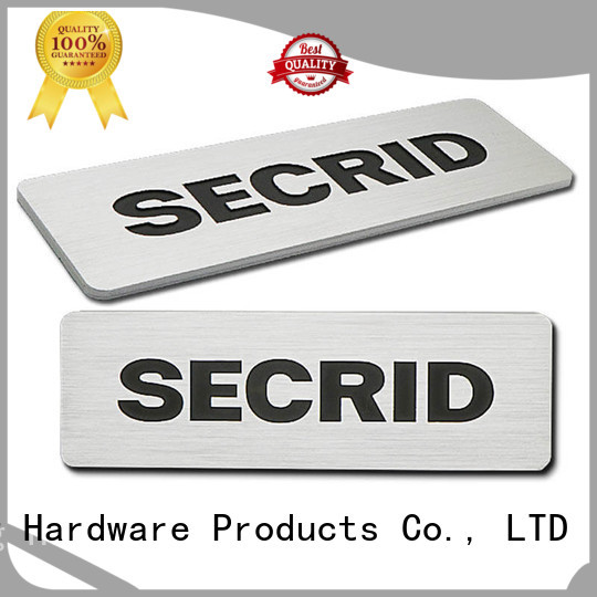 ShunDing Brand colorful brushing door name plates manufacture