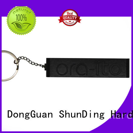ShunDing 3d engraved metal tags free design for activist