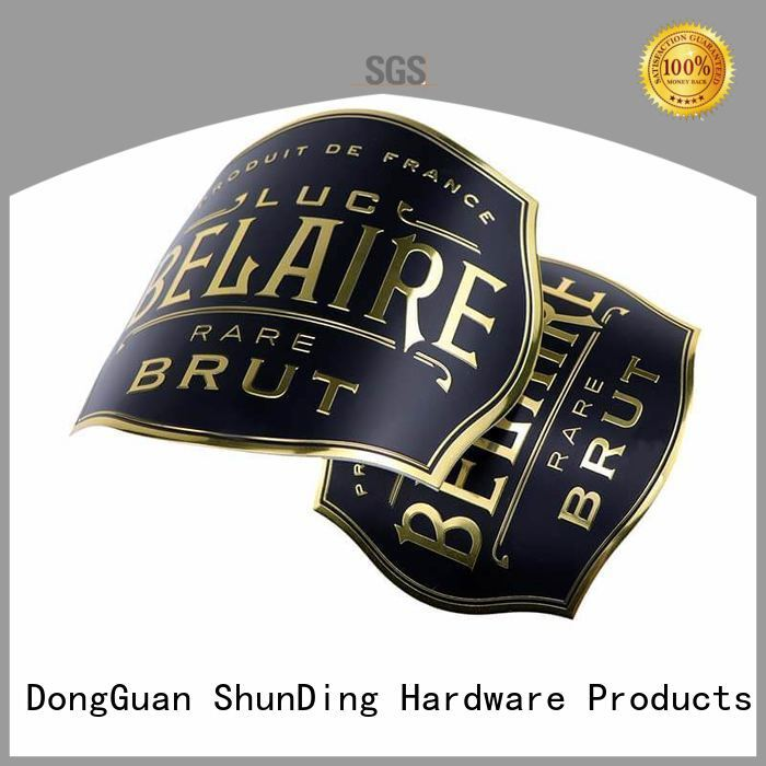 ShunDing stunning etched label aluminum for identification