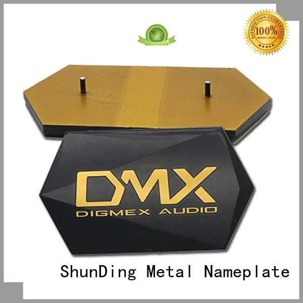 reliable custom metal name plates inquire now for souvenir