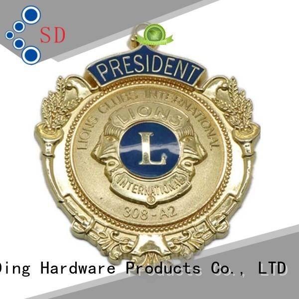 Custom Make Your Own Design Metal Souvenir Medal Plate SD-B00005