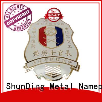 ShunDing popular custom metal medal type for auction