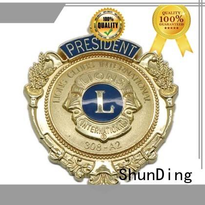 ShunDing high-quality custom metal medal price for identification