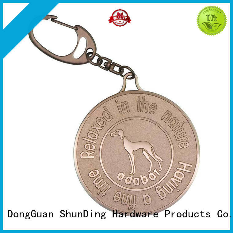 ShunDing inexpensive tag metals cost for staff