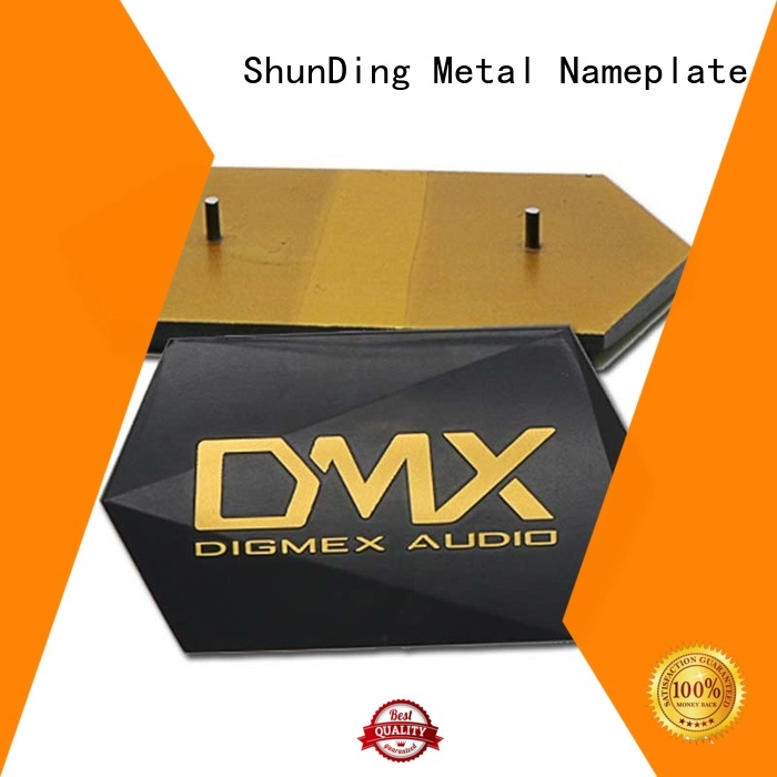 plates desk name plaques from China for company ShunDing