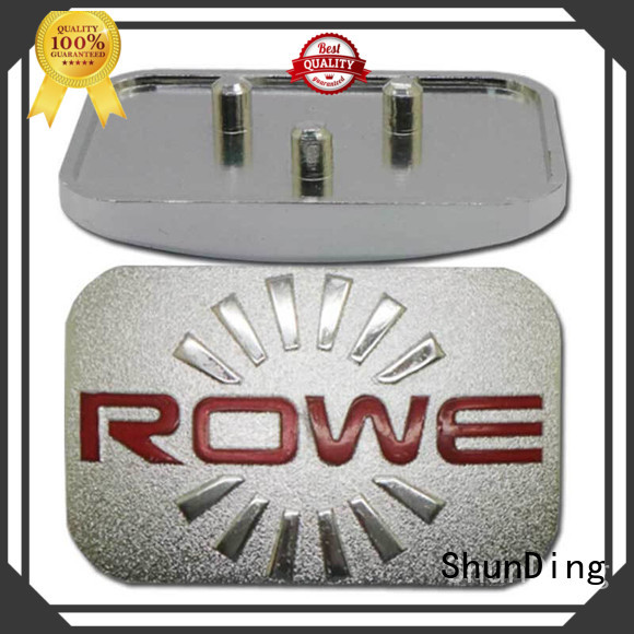Hot exquisite metal name plate mounting ShunDing Brand