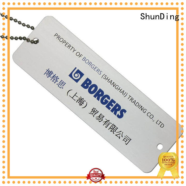 fine- quality metal tags pattern bulk production for commendation