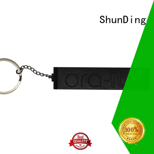embossed custom metal tags marketing for staff