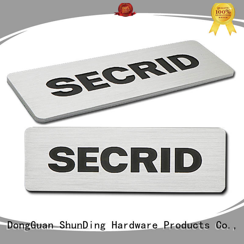 ShunDing new-arrival name plaques with good price for commendation