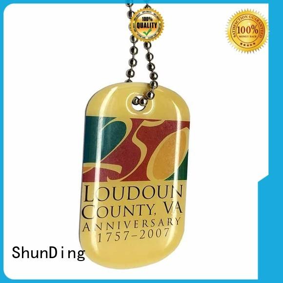 ShunDing Brand dog custom metal dog tags open supplier