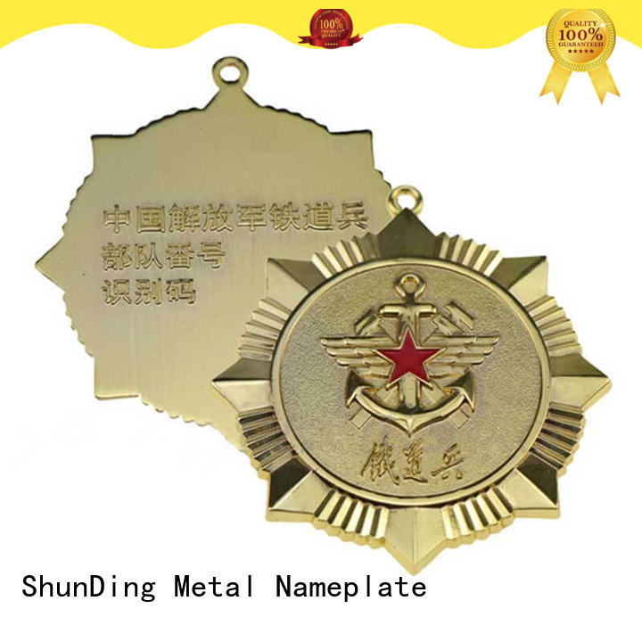 ShunDing high-quality metal sheriff badge experts for commendation